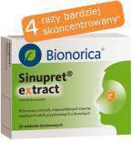 Sinupret Extract 160 mg 20 tabl.